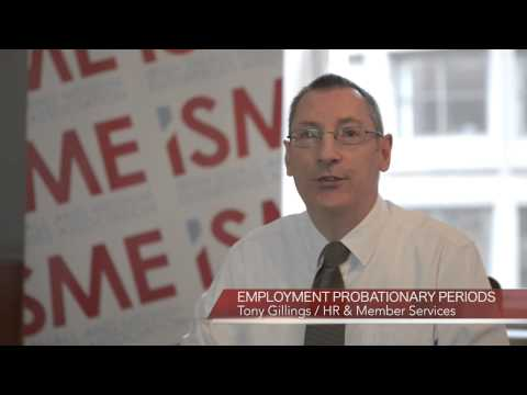 ISME Advice - Employment Probation