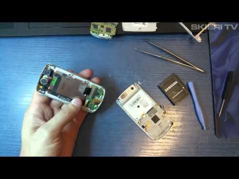 Samsung J700 - wymiana taśmy - FLEX - disassembly