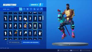 FORTNITE SEASON 10 NEW SKIN + RARE OG Ponyride Emote