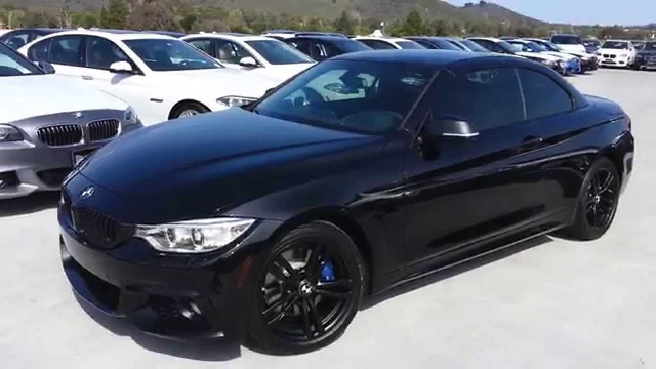 New Bmw 428i Convertible Black Out With Black 18 Inch M
