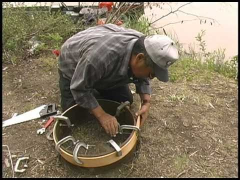Alaska Native Drum Making Video