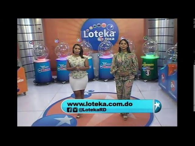 Loteka Lotería Electrónica Sorteo 07:55 PM 03-10-2021