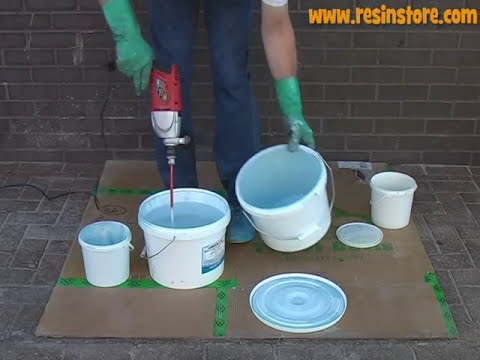 How to apply Epoxy Resin Flooring - Reactive Resins, UK. Conseal TSF