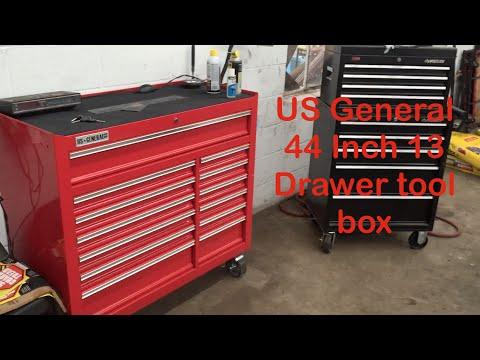 """Kingferns Real Review: US General tool box 44"""""""