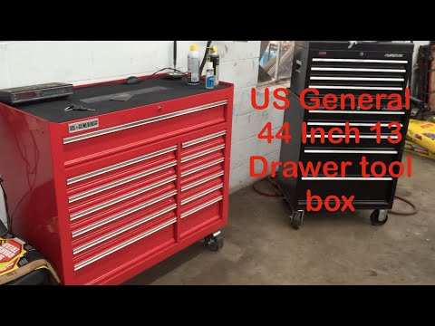 Kingferns Real Review Us General Tool Box 44 Quot Youtube