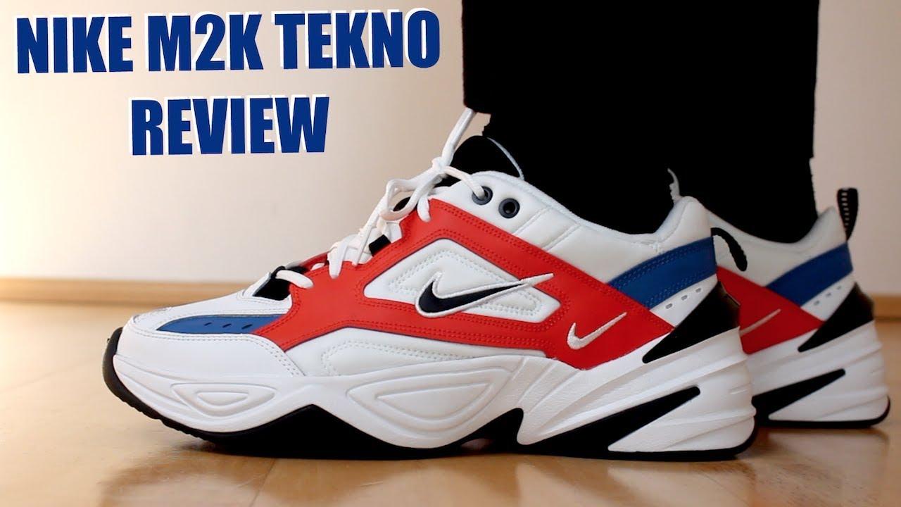 NIKE M2K TEKNO REVIEW + ON FEET   SIZING MENS ORANGE - YouTube 4996e6378