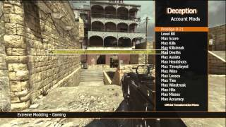 MW3 Mod Menu Deception Engine Text Dll for TU23 -  for Xbox 360 - JTAG/RGH Only