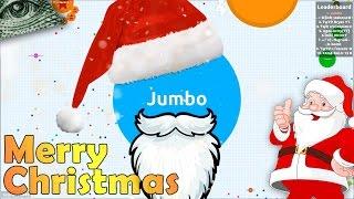 SANTA PLAYING AGARIO - CHRISTMAS SPECIAL | Agar.io |