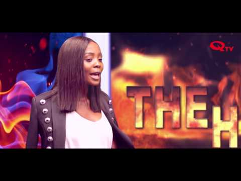 Alice Musukwa On THE HEAT WAVE With  Chali   Q TV ZAMBIA