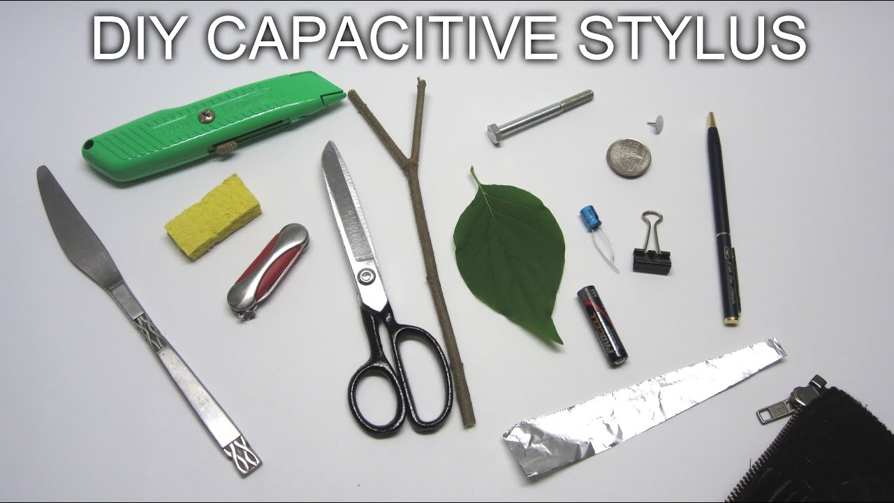 DIY Capacitive Stylus : 7 Steps (with