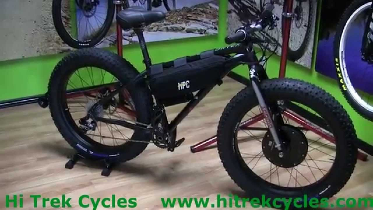 Fat Bike Ultra Electric Front Drive 2000w Hi Trek Cycles