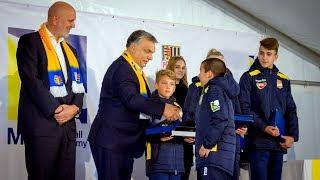 MOL Football Academy ünnepélyes megnyitó | slávnostné otvorenie (II.)