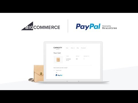 Connecting with PayPal powered by Braintree
