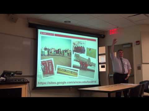 NCSU student presentation about the Study Abroad Program for CALS students