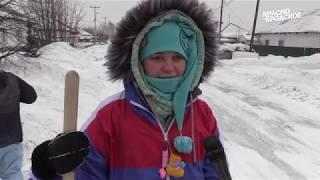 видео: Снежный десант в Краснобродском