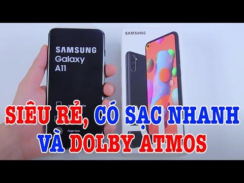 Mở hộp Galaxy A11 - điện thoại GIÁ SIÊU RẺ của Samsung
