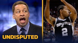 Chris Broussard reacts to the Spurs trading Kawhi to the Raptors for DeRozan | NBA | UNDISPUTED