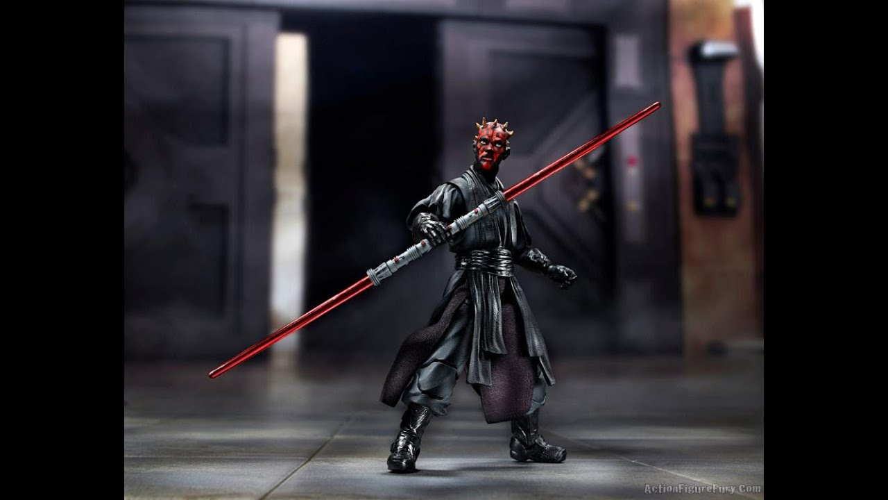 Star Wars The Black Series Darth Maul Review