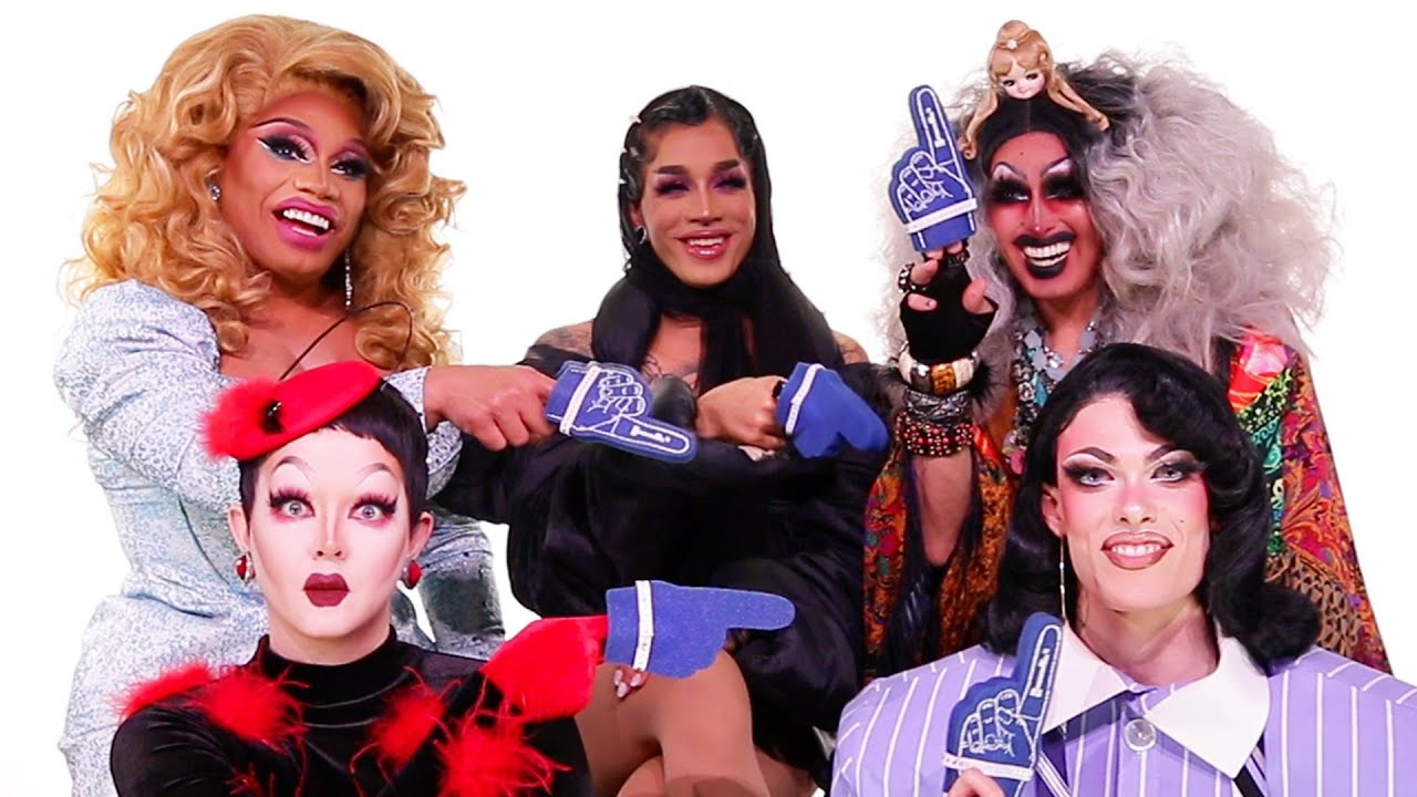 "The Queens Of Season 12 of ""RuPaul's Drag Race"" Play Who's Who"