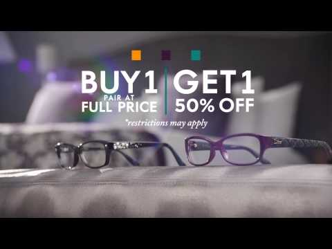 Grene Vision Group Optical Buy One Get One 50% Off