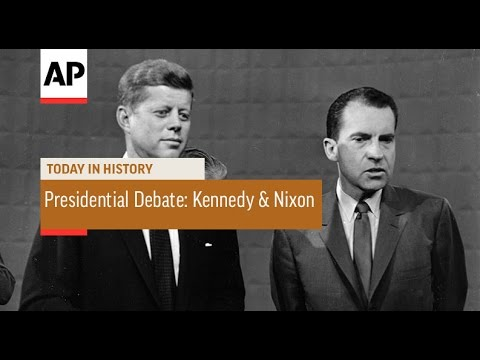 US Presidential Debate: Kennedy & Nixon - 1960 | Today in History | 26 Sept 16