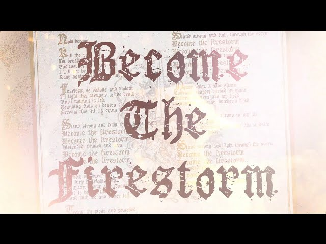 MACHINE HEAD - Become The Firestorm (OFFICIAL TRACK)