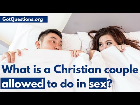And too christian question sex agree, the