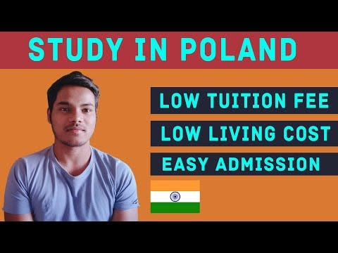 Study In Poland From India | Low Tuition Fee, Living Expense, Admission Process