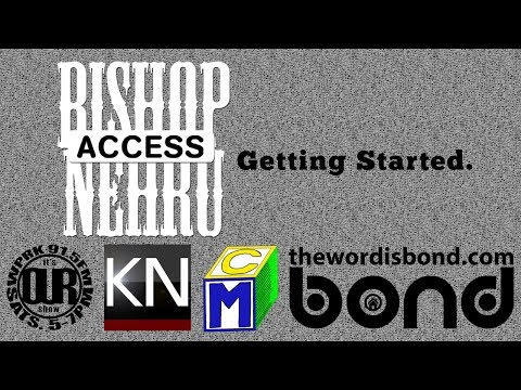 Access: Bishop Nehru November 9th 2013