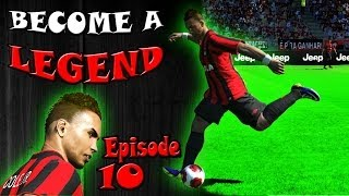 PES 2014 Become A Legend Ep.10 - NEW LOOK & NO MORE DELAY!