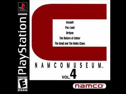 Namco Museum Vol. 4 - Pac-Land Game Room Theme