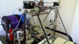 Reprap Prusa Mendel Playing Imperial March (Single Axis)