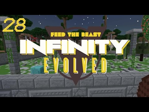 Minecraft: FTB Infinity Evolved - Ep.28 - Twilight  Forest - Pt.1