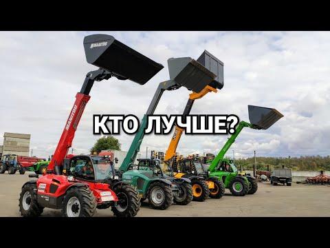 Який телескоп краще? Порівняння можливостей MANITOU, JCB, MERLO та KRAMER