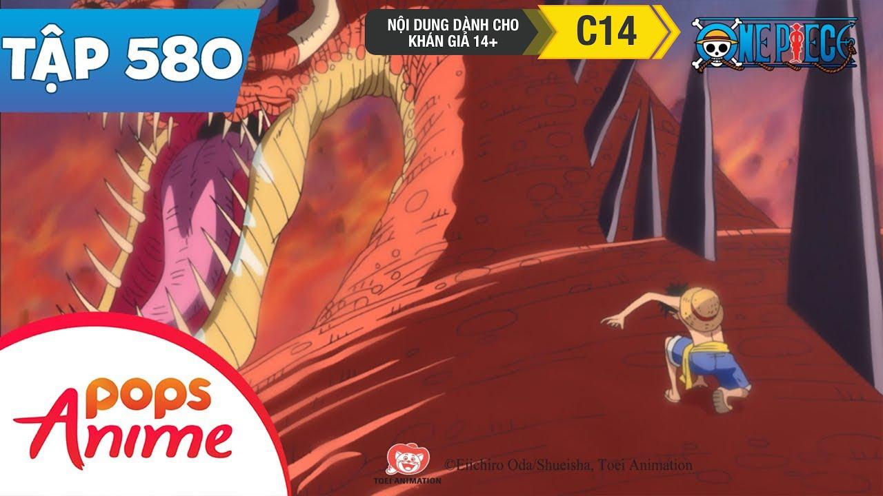 One Piece Tập 580 - Trận Chiến Rực Cháy! Luffy Đấu Với Rồng Khổng Lồ! - Đảo Hải Tặc