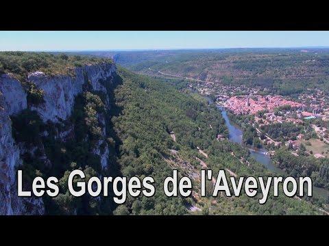 Drone Expert - Les Gorges de l'Aveyron - Vue du Ciel