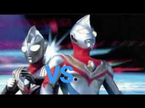 Ultraman Tiga Vs Dyna