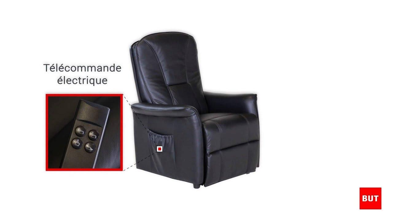 fauteuil relax electrique celeste but