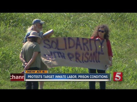 Nashville Joins Nationwide Prison Labor Protests