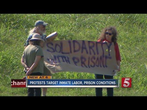 Nashville Joins Nationwide Prison Labor Protests
