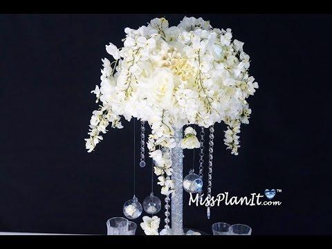 Star Bright Tall Wedding Centerpiece / DIY / How To Create This Star Bright Wedding Centerpiece!