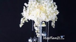 Star Bright Tall Wedding Centerpiece / DIY / How To Create This Star Bright Wedding Centerpiece!