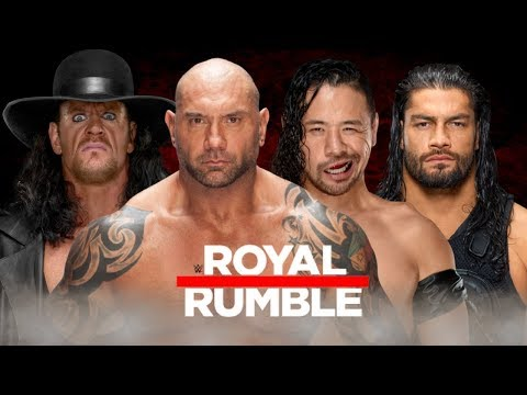 WWE 40 Man Royal Rumble Match 2018 - Entrance Predictions