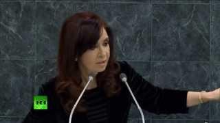 VERSIÓN COMPLETA: Discurso de Cristina Fernández de Kirchner en la Asamblea General de la ONU