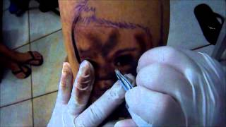 ROBINHO DEE - TATTOO WORK SHOP COM MONKEY FOTO