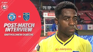 Bartholomew Ogbeche Skipper of Kerala Blasters Reviews JFC v KBFC | Hero ISL 2019-20