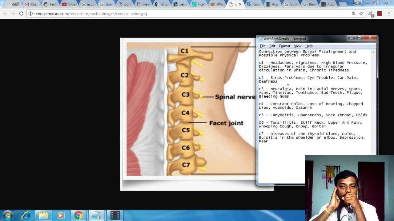 Download செர்விக்கல் எலும்புகளினால் ஏற்படும் பிரச்சனைகள் என்ன என்ன? How to Solve Cervical Spine Problems?