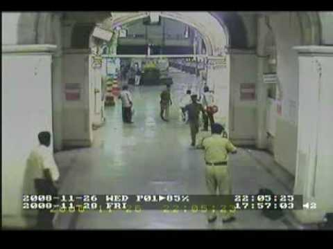 Mumbai Attacks CCTV at CST VIdeo