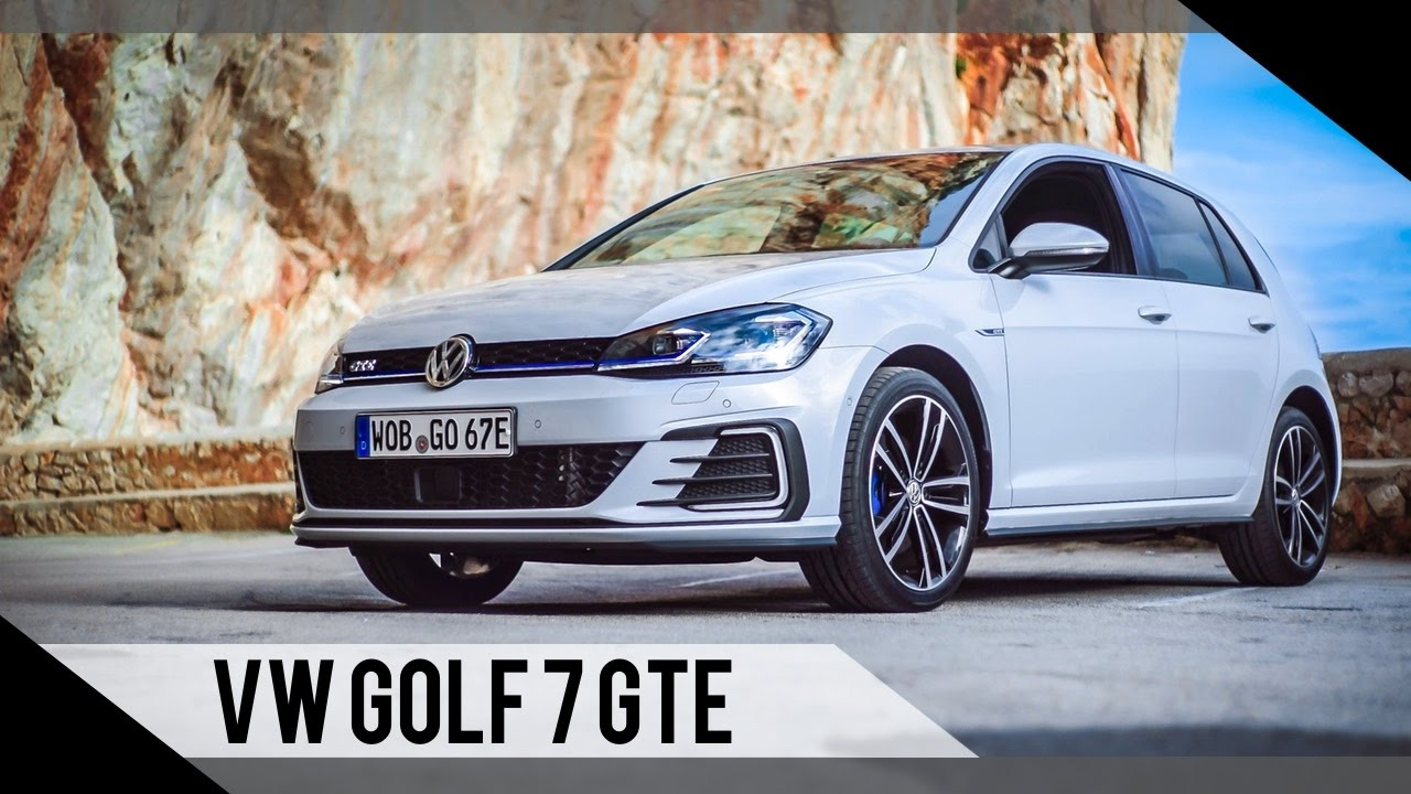 volkswagen golf 7 gte update 2017 test review fahrbericht motorwoche youtube. Black Bedroom Furniture Sets. Home Design Ideas