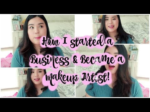 How I Started & Became a Make-up Artist | Tangspiration | Starting a Business - Top Tips!